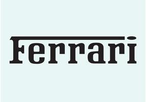 Logo Ferrari vecteur
