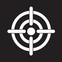Icône de symbole cible