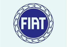 Logo de disque fiat vecteur