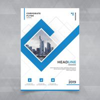 Brochure, affiche, flyer, brochure, magazine, design de la couverture avec un espace pour l'arrière-plan photo, modèle d'illustration vectorielle au format A4