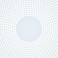 Fond blanc à motifs circulaires vecteur