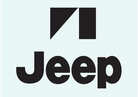 Logo de jeep vecteur