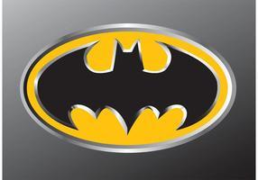 emblème de batman vecteur