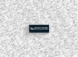 Motif de lignes de rayures couleurs abstraites noir gris blanc de la technologie décoration de fond. Vous pouvez utiliser pour la conception de motifs, la couverture, les annonces, les affiches et les rapports annuels. vecteur
