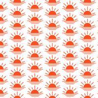 Icône de fond motif lever du soleil coucher de soleil