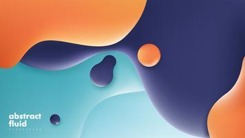 Conception de vecteur fluide abstraite
