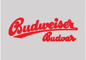 Logo Budweiser vecteur