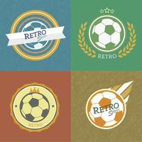 emblèmes de football rétro