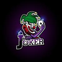 logo joker esport vecteur