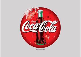 Icône vectorielle Coca-Cola vecteur