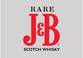 J & B Whiskey vecteur