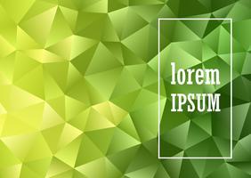 Low poly design abstrait vecteur