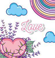 Dessins d'amour mignons