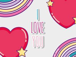 Je t'aime carte