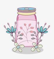 Bocal à fleurs