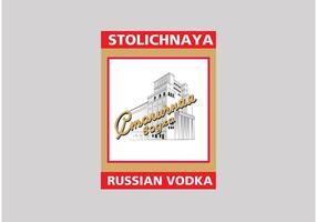 stolichnaya vodka vecteur