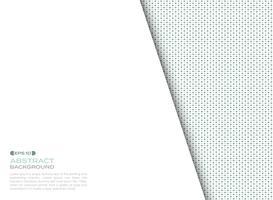 Couverture de fond numérique des éléments carrés bleus et verts avec espace de copie. vecteur