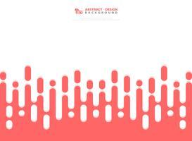 Résumé de fond de motifs de couleur rose bande. illustration vectorielle eps10 vecteur