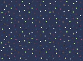 Abstrait motif coloré de fond géométrique.
