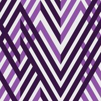 Motif géométrique de ligne abstraite simple bande violette.