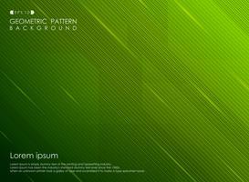 Affaires de conception de ligne abstraite dégradé bande verte. vecteur