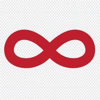 Icône symbole sans limites