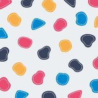 Abstrait coloré forme modèle fond de ligne mignonne. Vous pouvez l'utiliser pour la conception, la couverture et le titre de styles de couleurs. vecteur