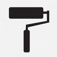icône de rouleau de peinture