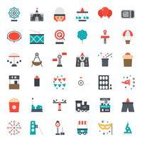 icône de parc d'attractions