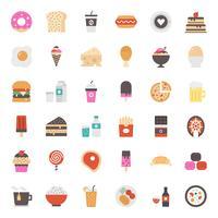 nourriture et boisson vecteur