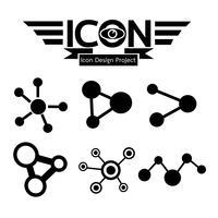 signe de symbole d'icône réseau vecteur