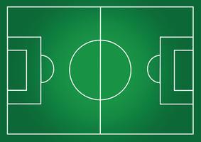 Terrain de soccer ou terrain de gazon texturé