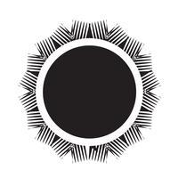 Signe symbole icône soleil