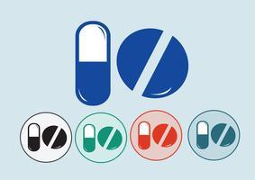Icône de médecine symbole signe vecteur