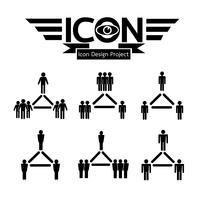 icône de réseau de personnes