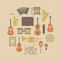 icône d'instrument rétro