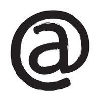 icône de symbole de courrier électronique