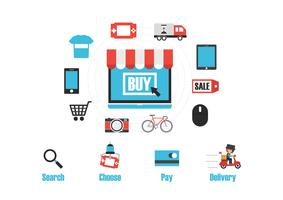 infographie boutique en ligne