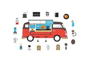 fourgon à café mobile