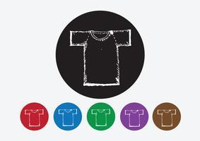 Habillement chemise et T-shirt Icon Icônes de vêtements