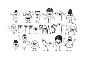 Signe Symbole Monstre Des Yeux