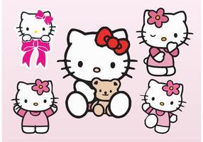 Vecteurs Hello Kitty