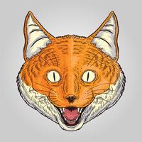 Vecteur Fox Smilley Animal