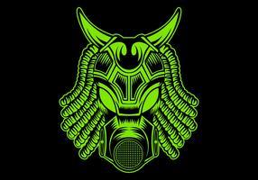 illustration vectorielle de masque monstre