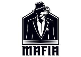 illustration vectorielle mafia vecteur