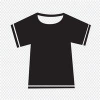 Tshirt signe symbole icône vecteur