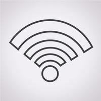 signe de symbole icône wifi