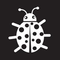 Signe de symbole icône bug vecteur