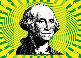 Président Washington vecteur