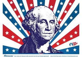 George Washington vecteur